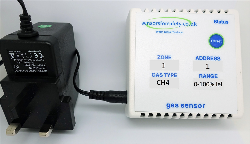 S4S Gaswarden Stand alone safe area gas sensors for all gases. Can also be used with S4S Gaswarden control panel. Gallery Image