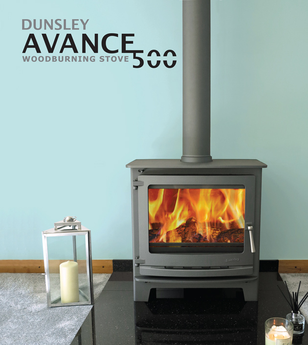 Dunsley Avance 500 woodburning stove Gallery Image