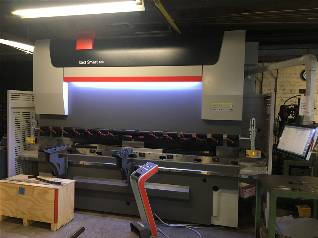 our brand new Bystronic press brake Gallery Image