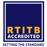 We are RTITB Accredited and cover the full range of qualifications that they offer. Gallery Image
