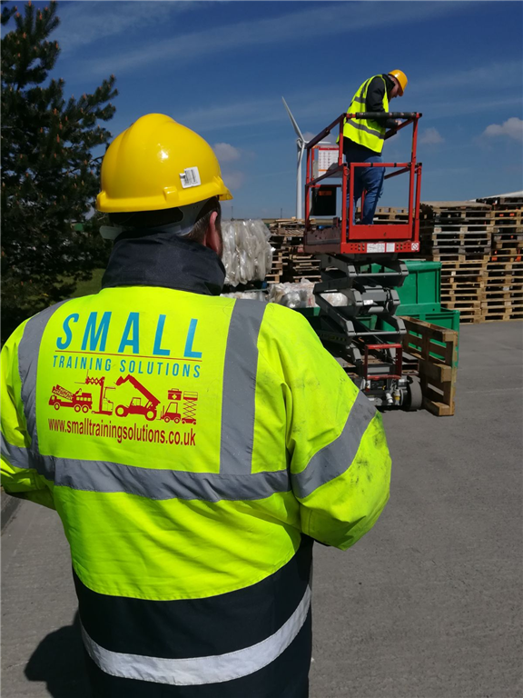 3A MEWP Scissor Lift training in Merthyr Tydfil, We offer RTITB or NPORS Certification Gallery Image