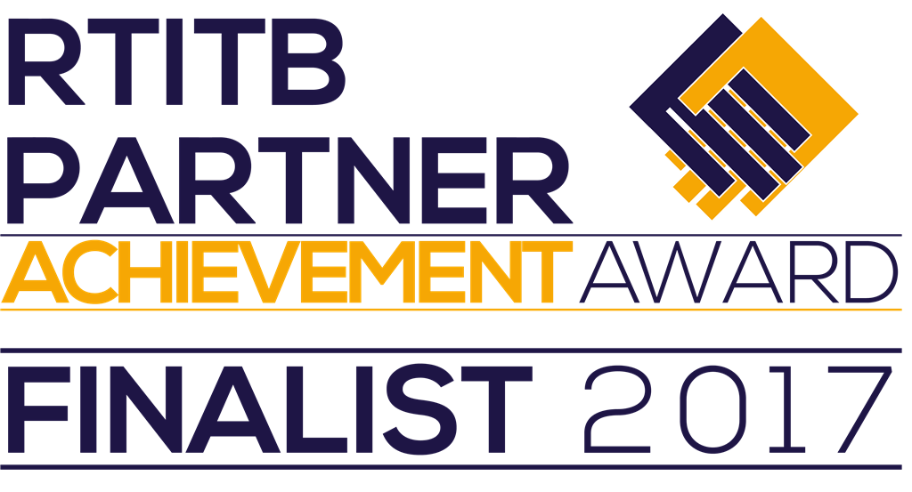 We were finalists in the 2017 RTITB Partner Achievement Awards. Gallery Image