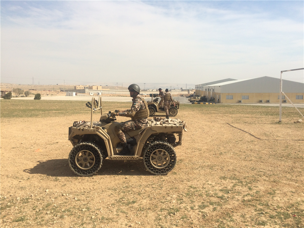 Quad bike course delivered in Jordan, Their armed forces utilise our training many times per year. Gallery Image