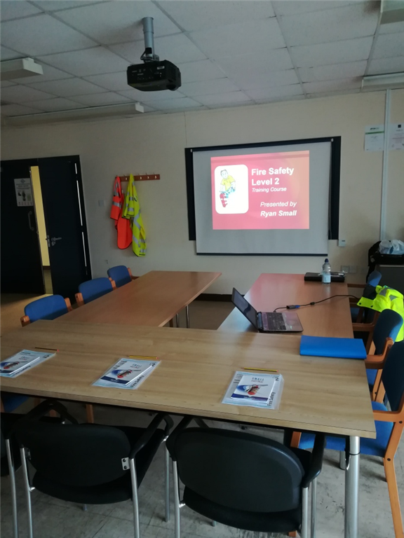 Accredited Fire Marshall training in Bridgend, South Wales.  We offer Level 1 and 2 in Fire Safety. Gallery Image