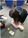 Level 3 Award in Emergency First Aid at Work training in Cardiff, South Wales.  A range of First Aid qualifications are on offer. Gallery Thumbnail
