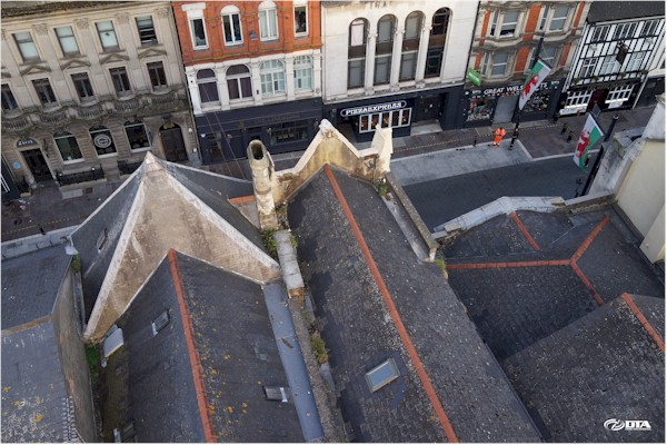 Drone Roof Inspection - Inner City - Cardiff - Drone Tech Aerospace Gallery Image