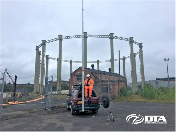 Elevated Mast Industrial Inspections - Photography & Video - London - Drone Tech Aerospace Gallery Image