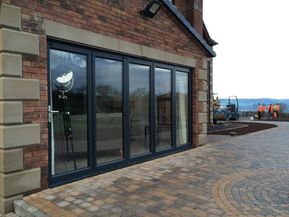 5 pane bi fold door in a house, Ballymena Gallery Image