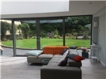 Lift & slide large doors merge the garden with the living area Gallery Thumbnail