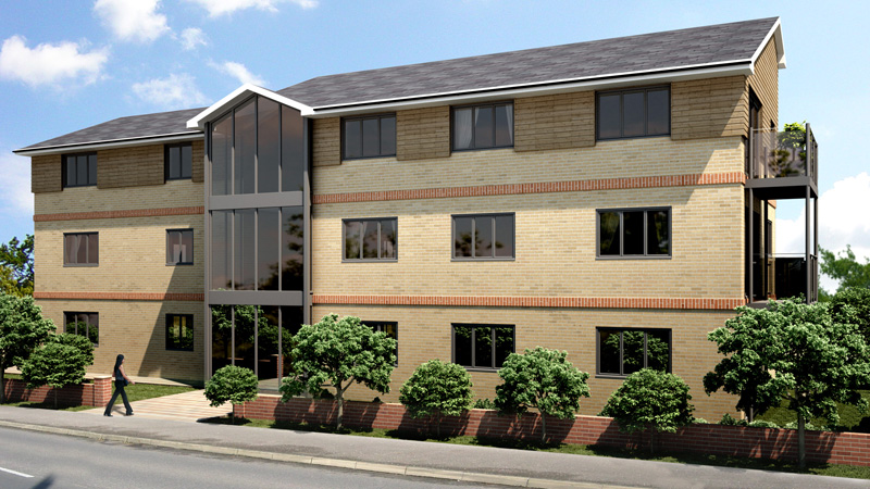 New apartments at Coulsdon in Surrey. Gallery Image