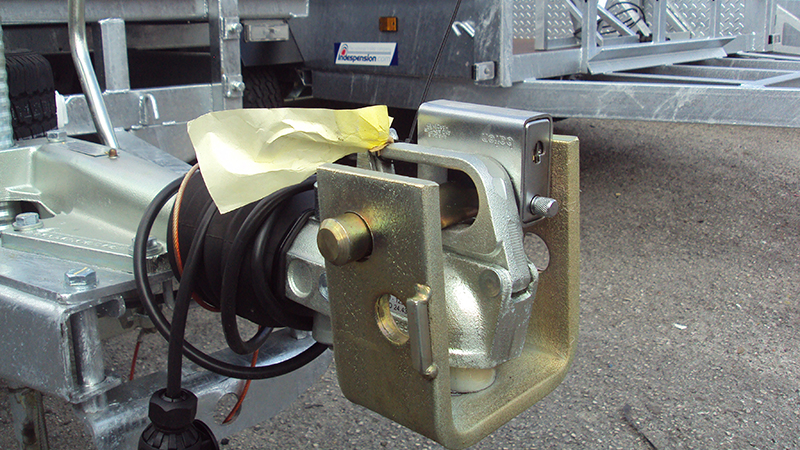 Universal 50mm Ball Hitch lock, will fit all common Hitch heads, Bradley, Avonride, Al Ko to name but a few.  Gallery Image