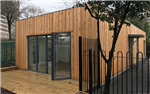 Built from Structural Insulated Panels - SIPs, this School extension provided much needed additional space for the children.   Gallery Thumbnail