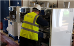 Need a commercial heating installation? Visit our website for further information. Here we are adding teh final touches to this school heating system. Gallery Thumbnail