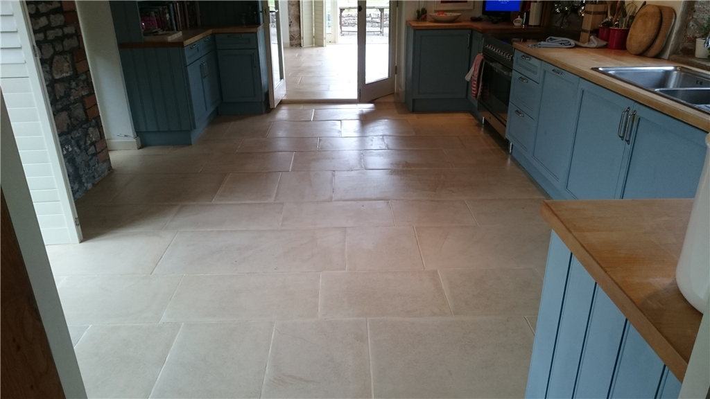 Limestone areas cleaned and resealed Gallery Image