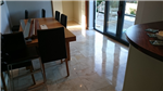 Travertine Dining area cleaned and highly polished Gallery Thumbnail