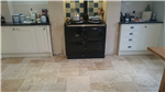 Travertine Kitchen cleaned and Impregnator sealed Gallery Thumbnail