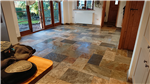 Slate floor after cleaning and resealing Gallery Thumbnail