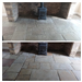Flagstone floor in a Farmhouse. Before and after cleaning and sealing Gallery Thumbnail