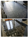 Composite marble before and after cleaning and polishing Gallery Thumbnail