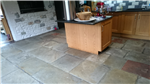 Flagstone flooring stripped and cleaned Gallery Thumbnail