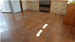 Indian Sandstone floor after cleaning and sealing Gallery Thumbnail