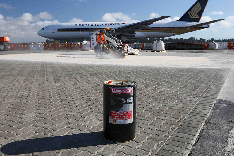 Resiblock '22', the most popular and effective sealer used at Ports and Airports around the World including Heathrow, Hong Kong and New Zealand Gallery Image