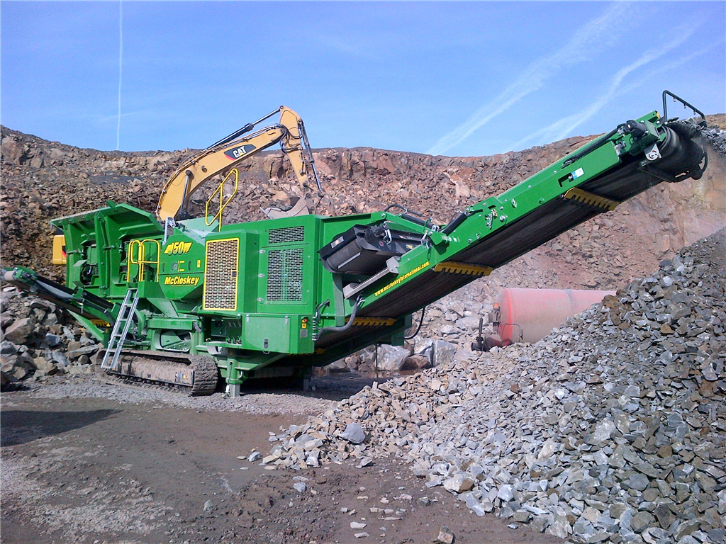 McCloskey J50v2 Jaw Crusher Gallery Image