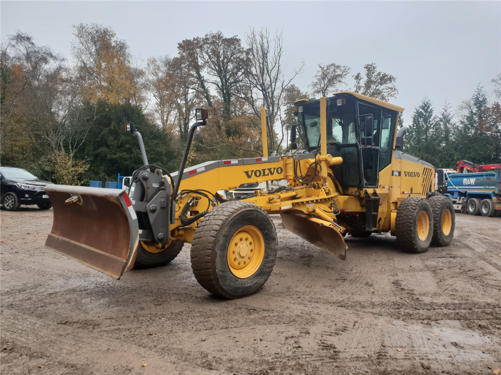 Volvo Graders with front blade.  Gallery Image