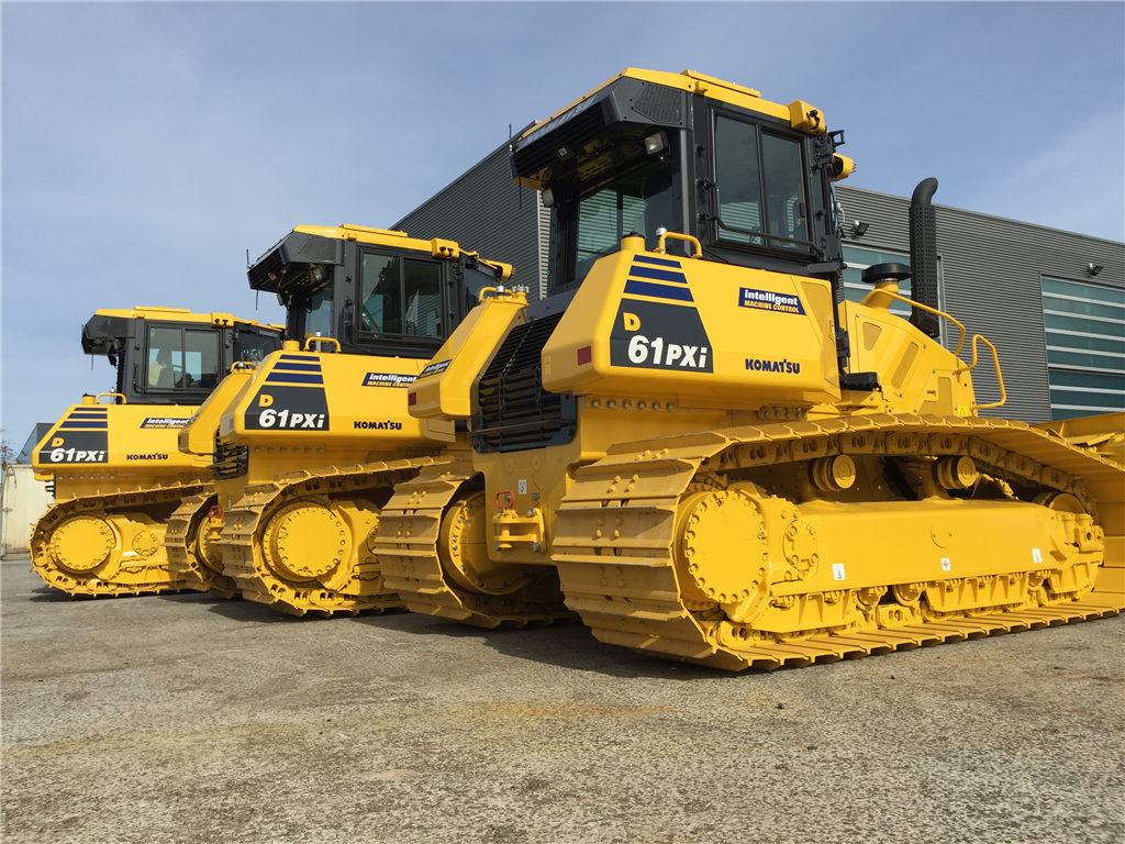 Komatsu D61PXI-24 with intelligent machine control.  Gallery Image