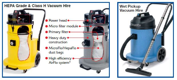 Enviogard Hires Clean Room Vacuums, HEPA Vacuums, and Wet Pick-Up Vacuums Gallery Image