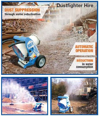 Envirogard Hires Dustfighter DF Smart Misting Cannons Gallery Image