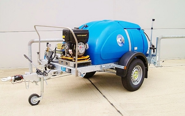 Envirogard Hires Highway Towable Bowser Jet Wash Units Gallery Image