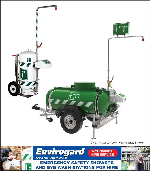 Envirogard Hires Safety Showers & Eye Wash Stations Gallery Image