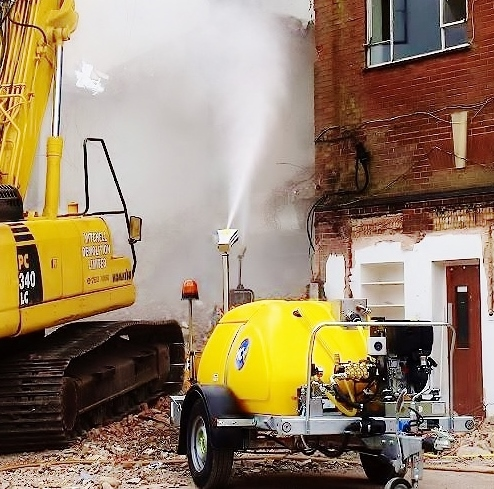 Envirogard Hires Dustguard Water Misting Cannons for Dust Suppression Gallery Image