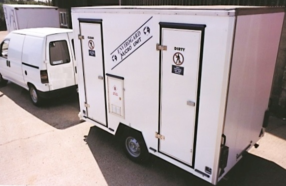 Envirogard Hires Mobile Decontamination Showers Gallery Image