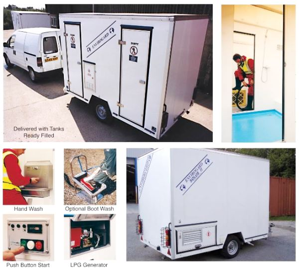 Envirogard Hires Mobile Decontamination Units Gallery Image