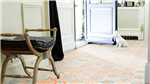 Vinyl Click Flooring, Tarkett Starfloor Retro Orange Blue Gallery Thumbnail