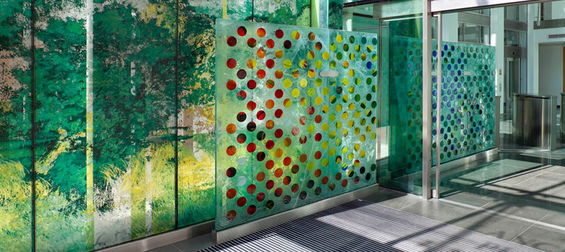 Andrew moor associates is one of the leading architectural for Architectural glass art