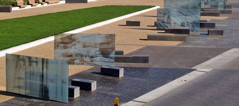 Printed Glass, Site-specific Public Art, Place-making, Bridlington Spa, Yorkshire Gallery Image