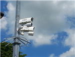 New CCTV cameras installed at an NHS carpark in 2014. Gallery Thumbnail