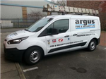 New Argus Service engineers van 2016. Gallery Thumbnail