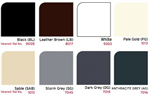 Freefoam colour range