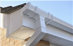 Freeflow square rainwater system in white Gallery Thumbnail