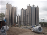 Freefoam has a total of 11 silos to for raw materials to feed the mixing plant Gallery Thumbnail