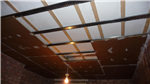 PhoneStar Soundproofing Board on Resilient Bars on Ceiling Gallery Thumbnail