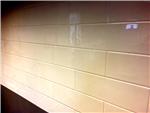 NoTileTM - Horizontal Brick Effect Hygienic Wall Panels Supplied by CFM Ltd Gallery Thumbnail