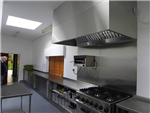 330mm x 250mm Tile Effect Hygienic Wall Panels - Supplied by CFM Ltd for a commercial kitchen Gallery Thumbnail