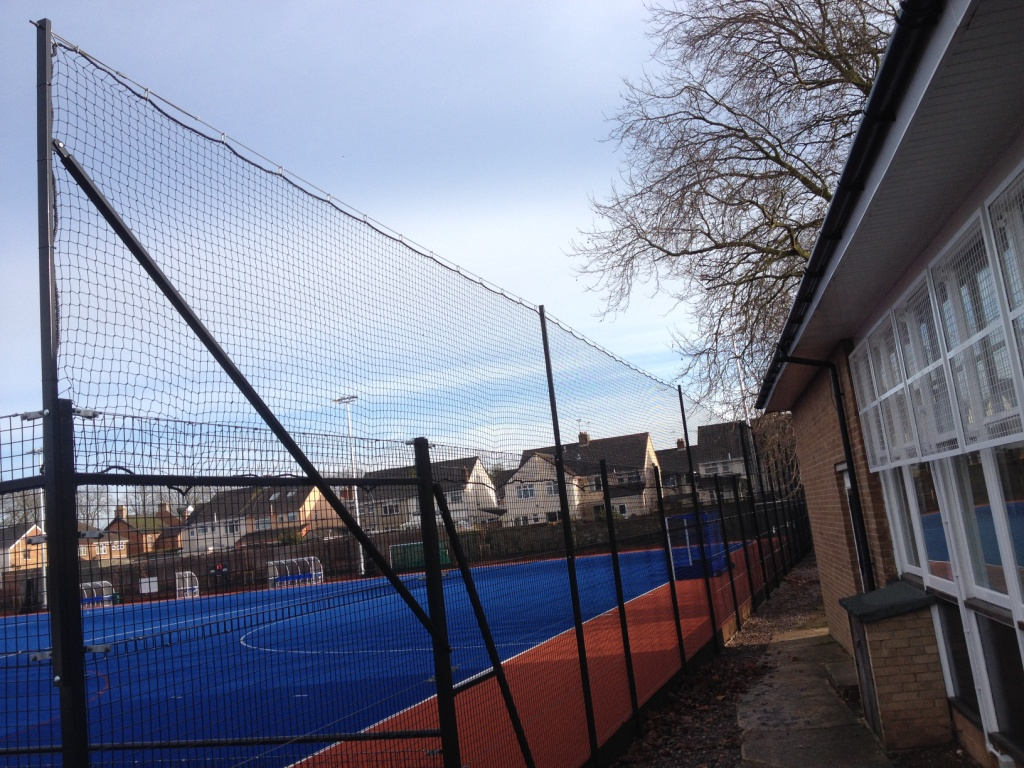 2m additional extension to existing 3m high MUGA fence Gallery Image
