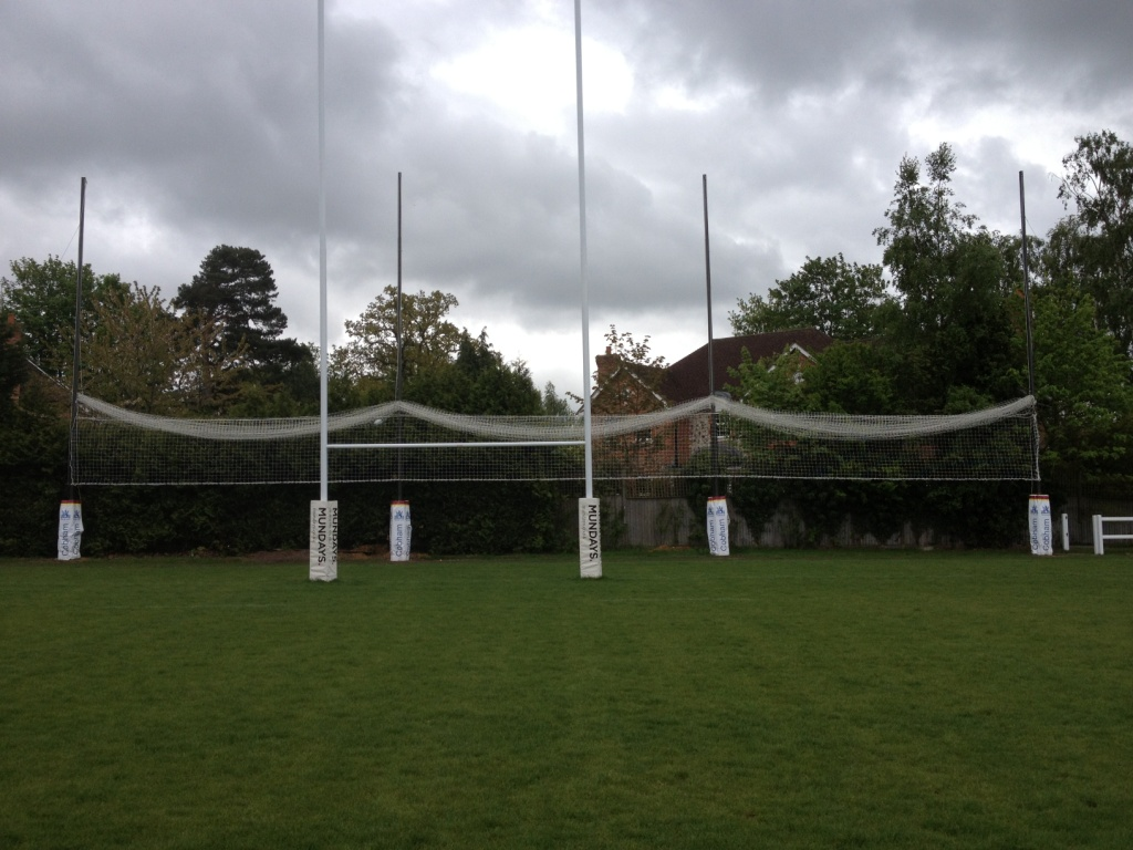 demountable rugby netting Gallery Image