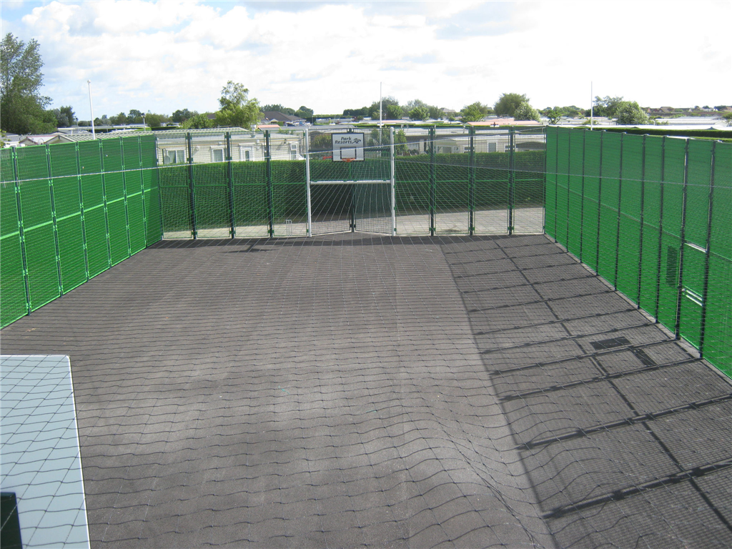 MUGA roof net Gallery Image